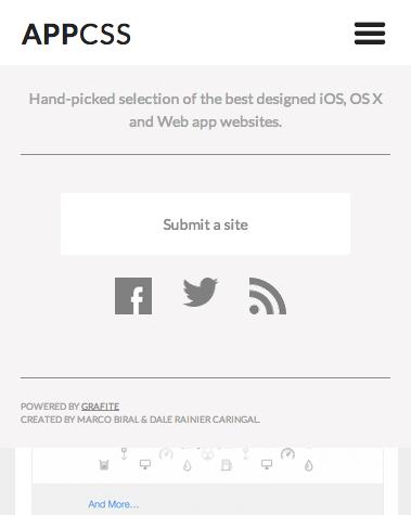 appcss menu responsive