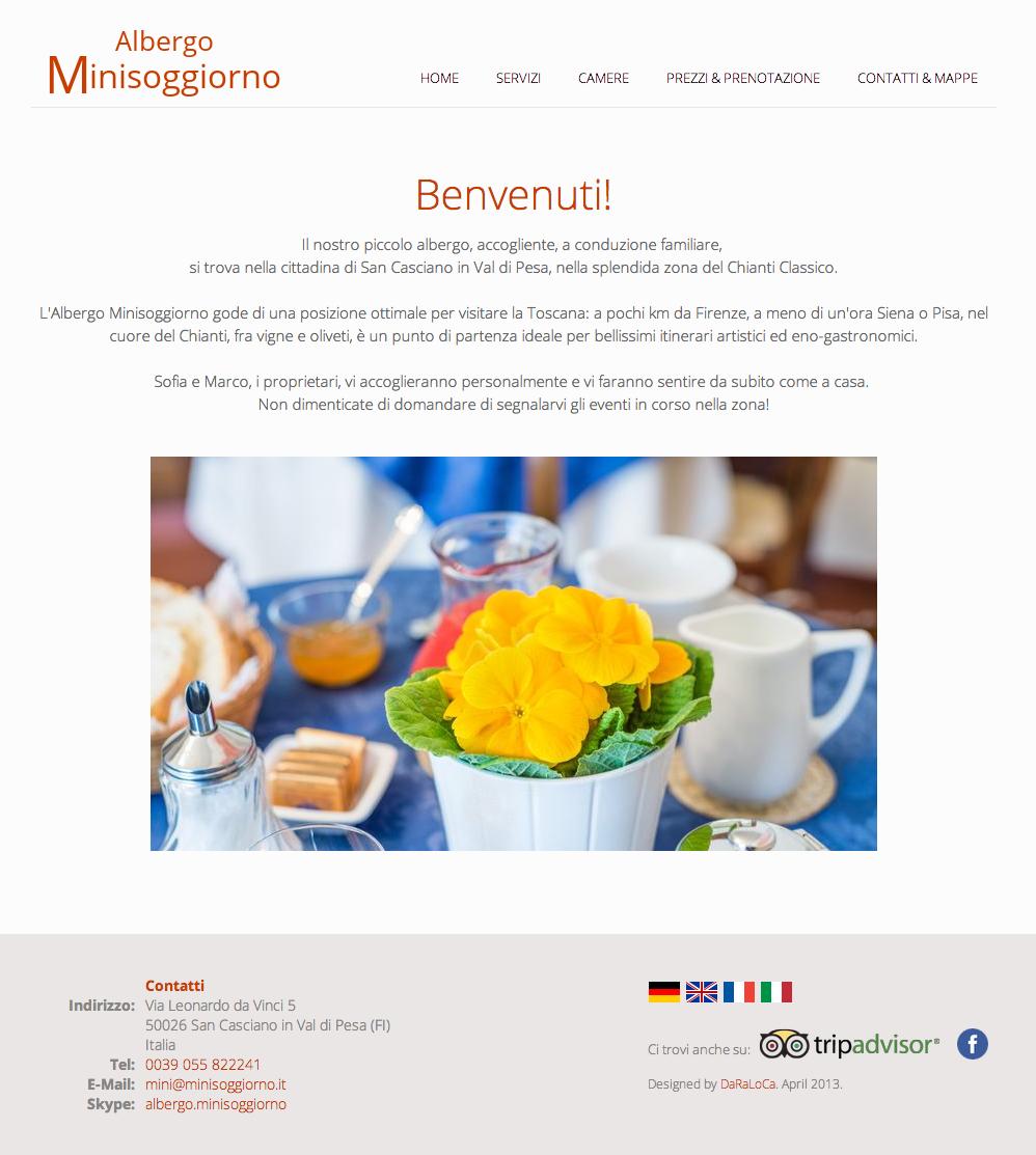 minisoggiorno homepage