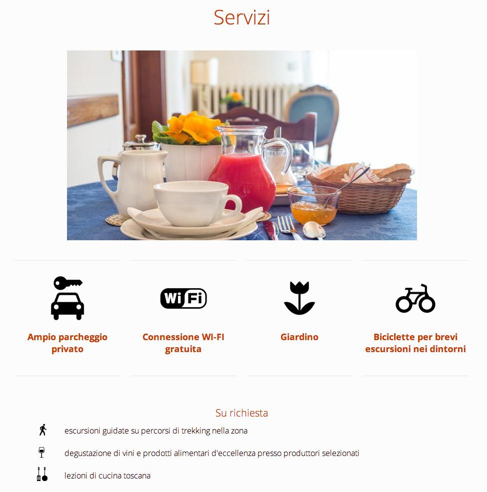 minisoggiorno services